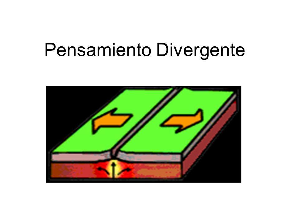 Pensamiento Divergente