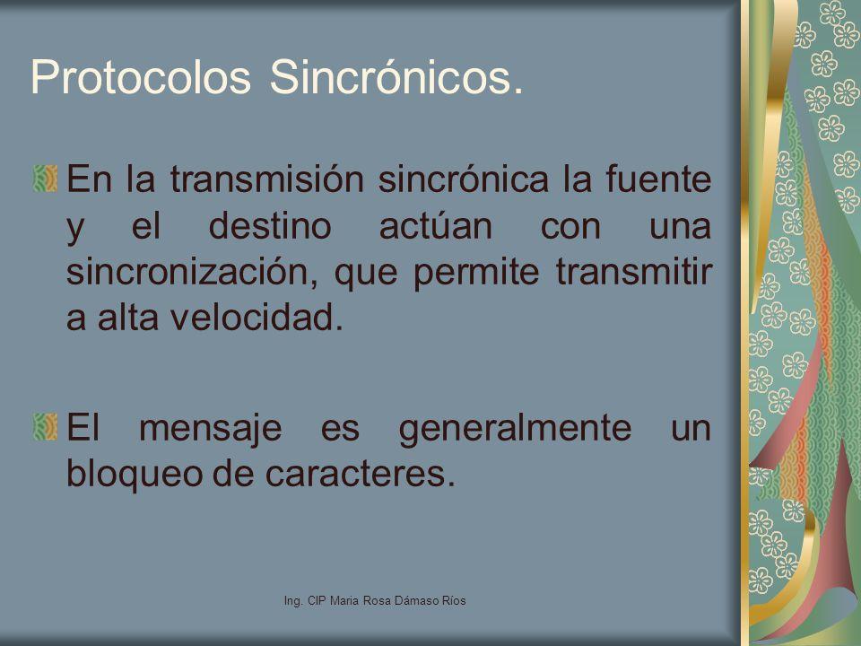 Protocolos Sincrónicos.