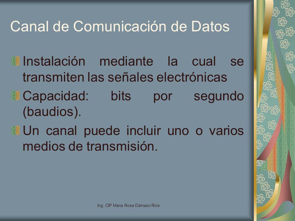 Canal de Comunicación de Datos