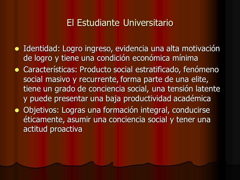 El Estudiante Universitario