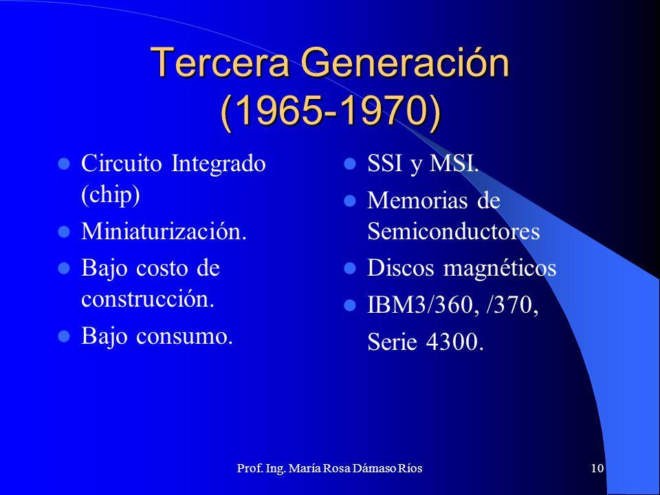 Tercera Generación (1965-1970)