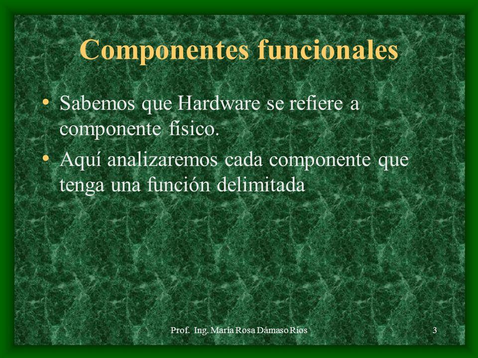 Componentes funcionales