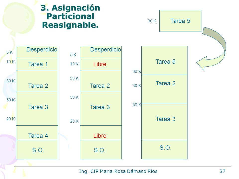 3. Asignación Particional Reasignable.