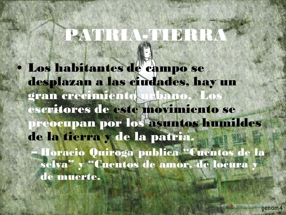 PATRIA-TIERRA