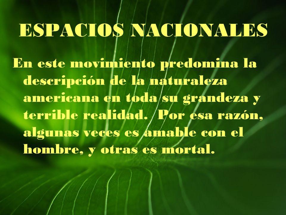 ESPACIOS NACIONALES