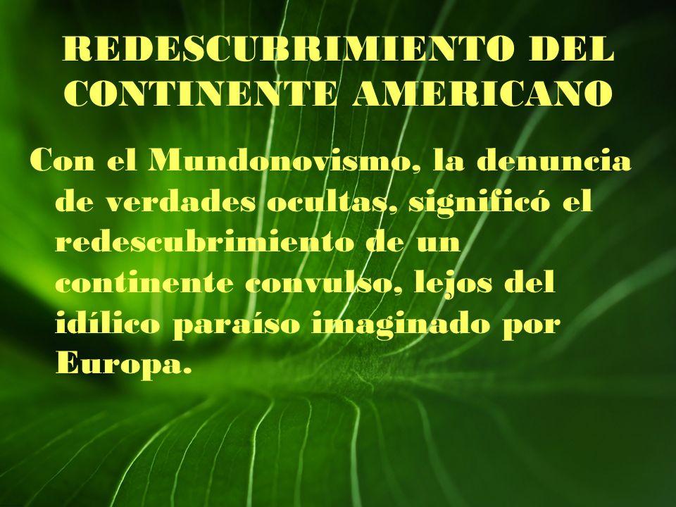REDESCUBRIMIENTO DEL CONTINENTE AMERICANO