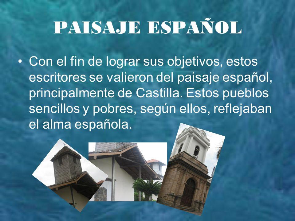 PAISAJE ESPAÑOL