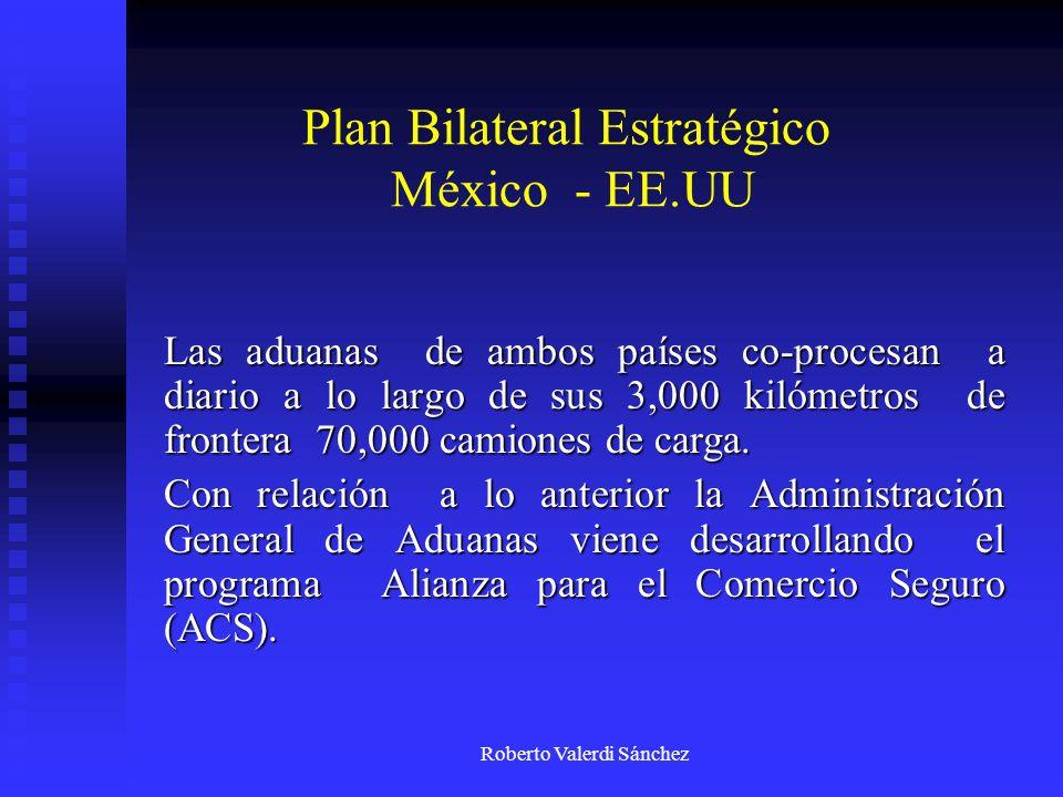 Plan Bilateral Estratégico México - EE.UU