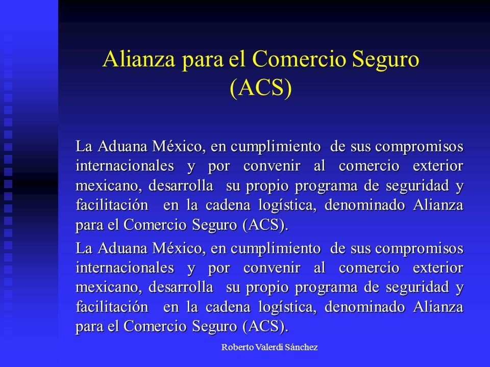 Alianza para el Comercio Seguro (ACS)