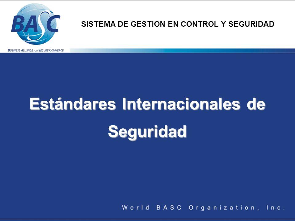 Estándares Internacionales de Seguridad