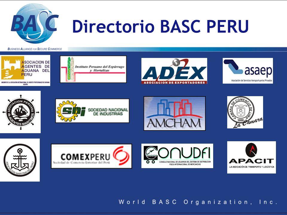 Directorio BASC PERU