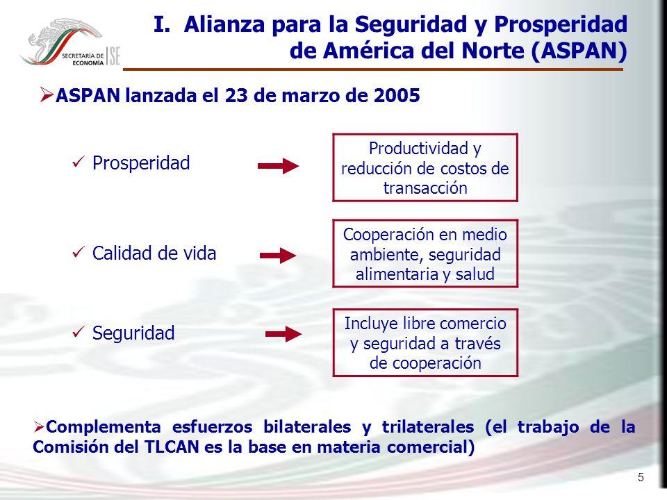 ASPAN lanzada el 23 de marzo de 2005
