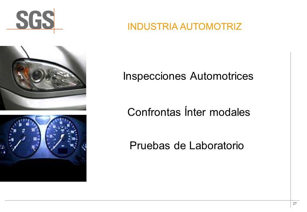 Inspecciones Automotrices