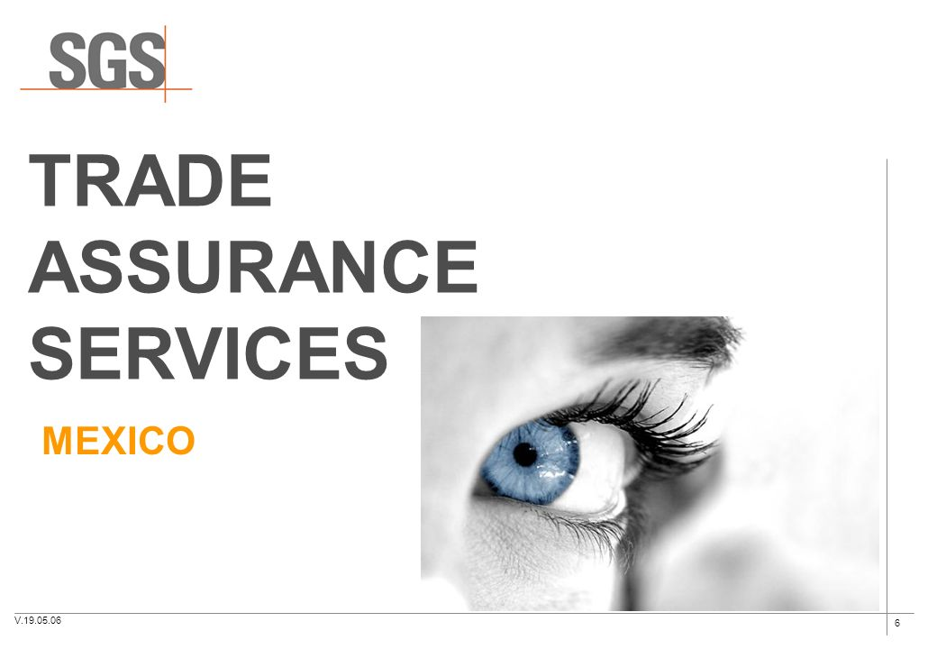 TRADE ASSURANCE SERVICES