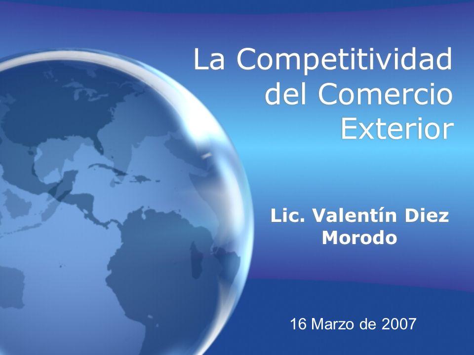 La Competitividad del Comercio Exterior
