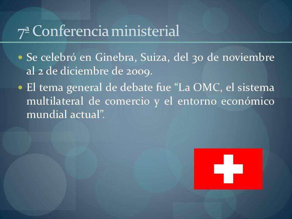 7ª Conferencia ministerial