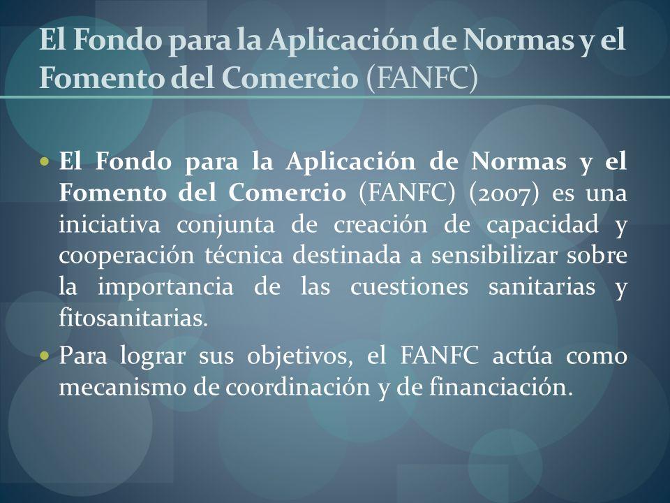 El Fondo para la Aplicación de Normas y el Fomento del Comercio (FANFC)