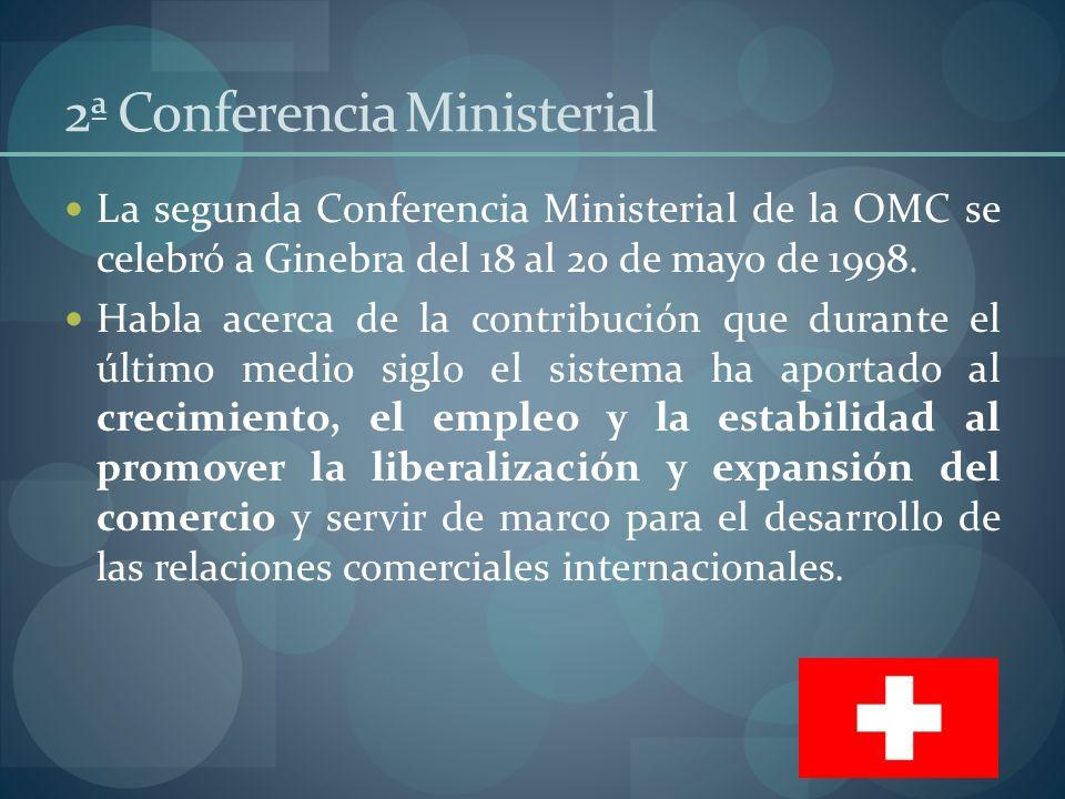2ª Conferencia Ministerial