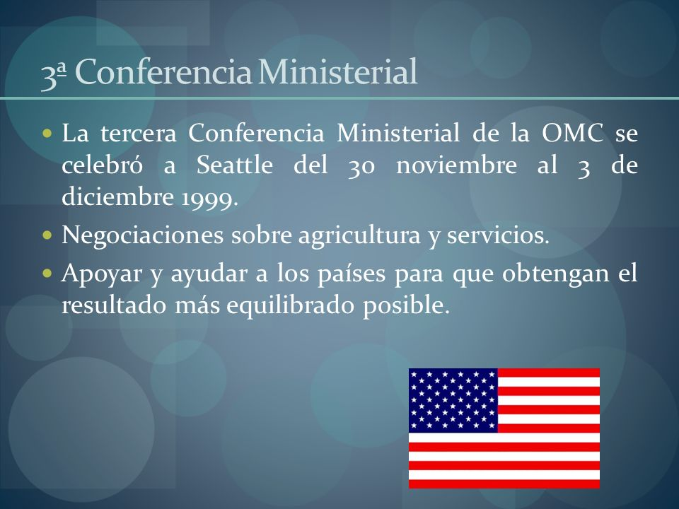 3ª Conferencia Ministerial