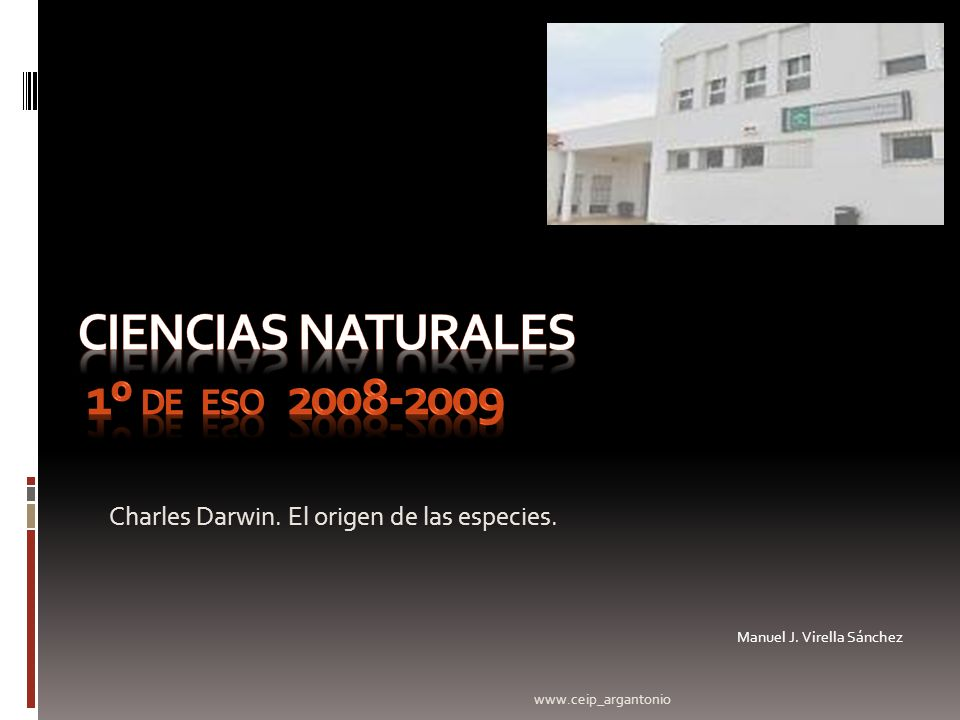 CIENCIAS NATURALES 1º de eso 2008-2009