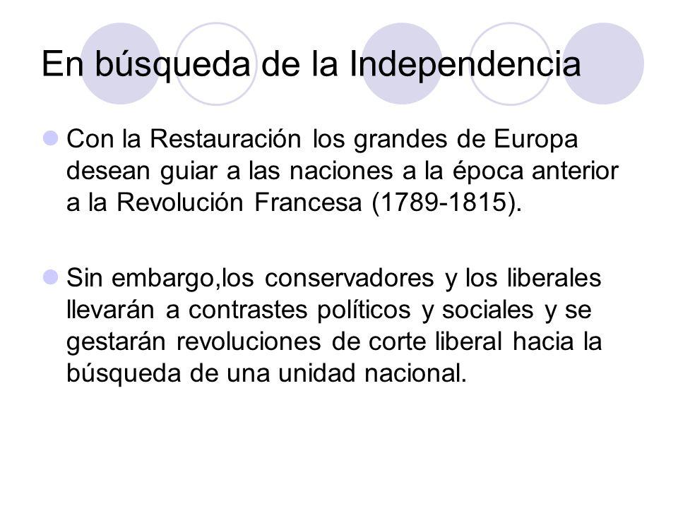 En búsqueda de la Independencia