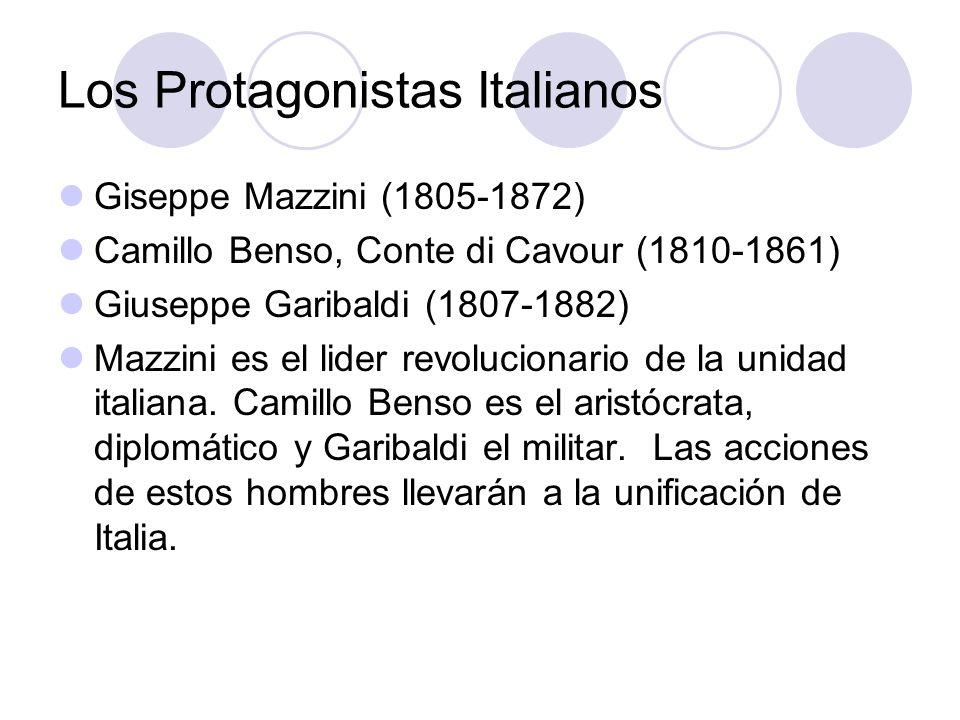 Los Protagonistas Italianos