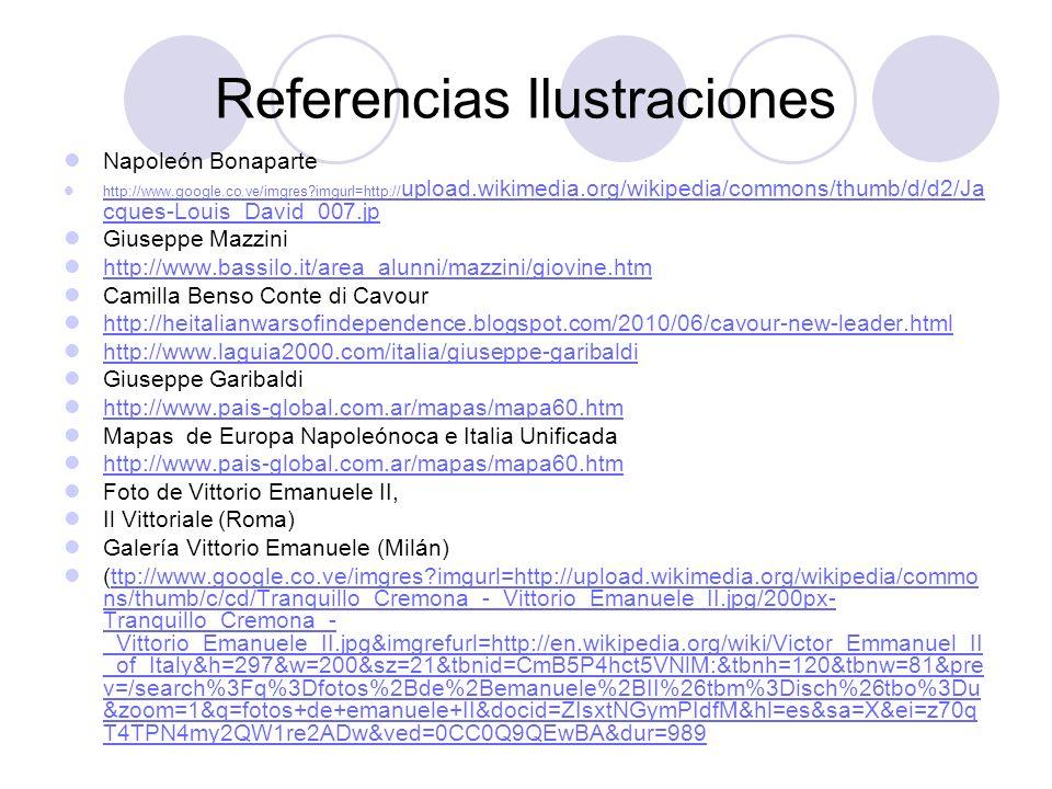 Referencias Ilustraciones