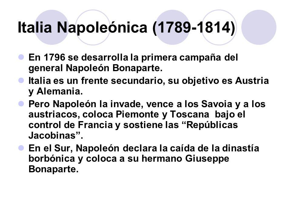 Italia Napoleónica (1789-1814)
