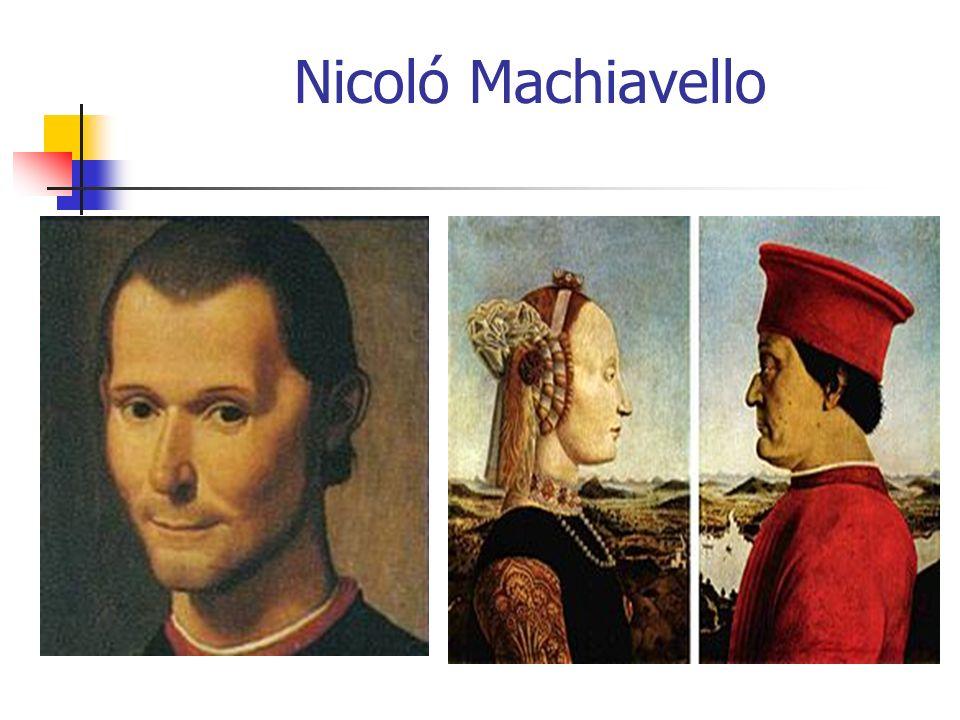 Nicoló Machiavello