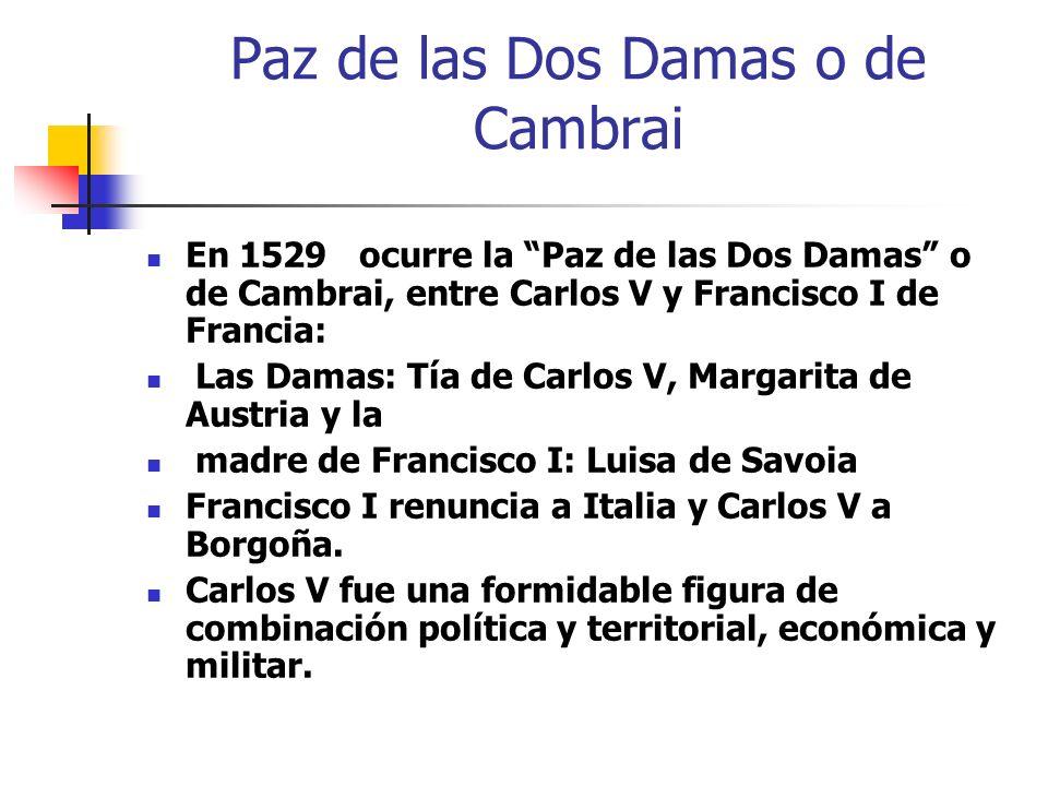 Paz de las Dos Damas o de Cambrai