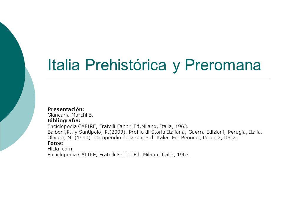Italia Prehistórica y Preromana