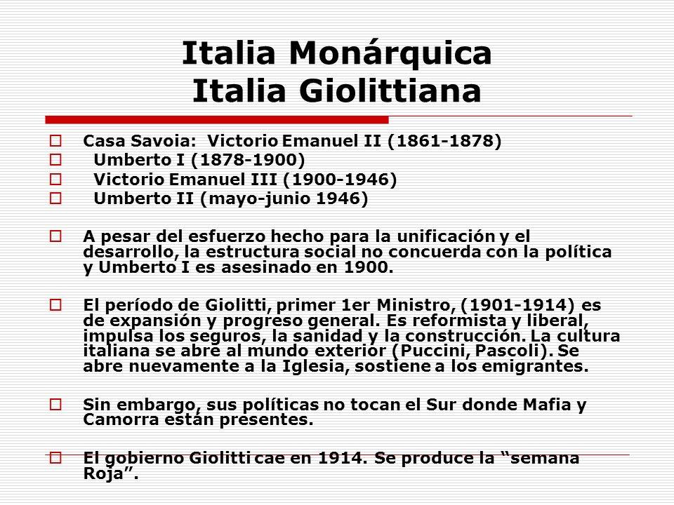Italia Monárquica Italia Giolittiana