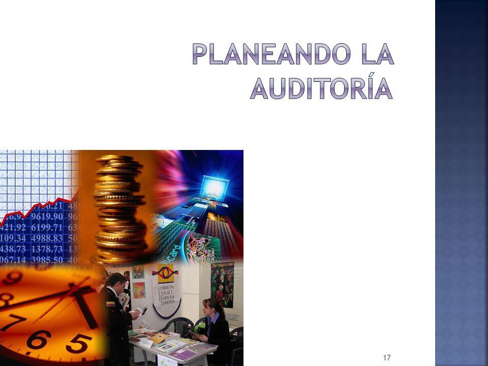PLANEANDO LA AUDITORÍA