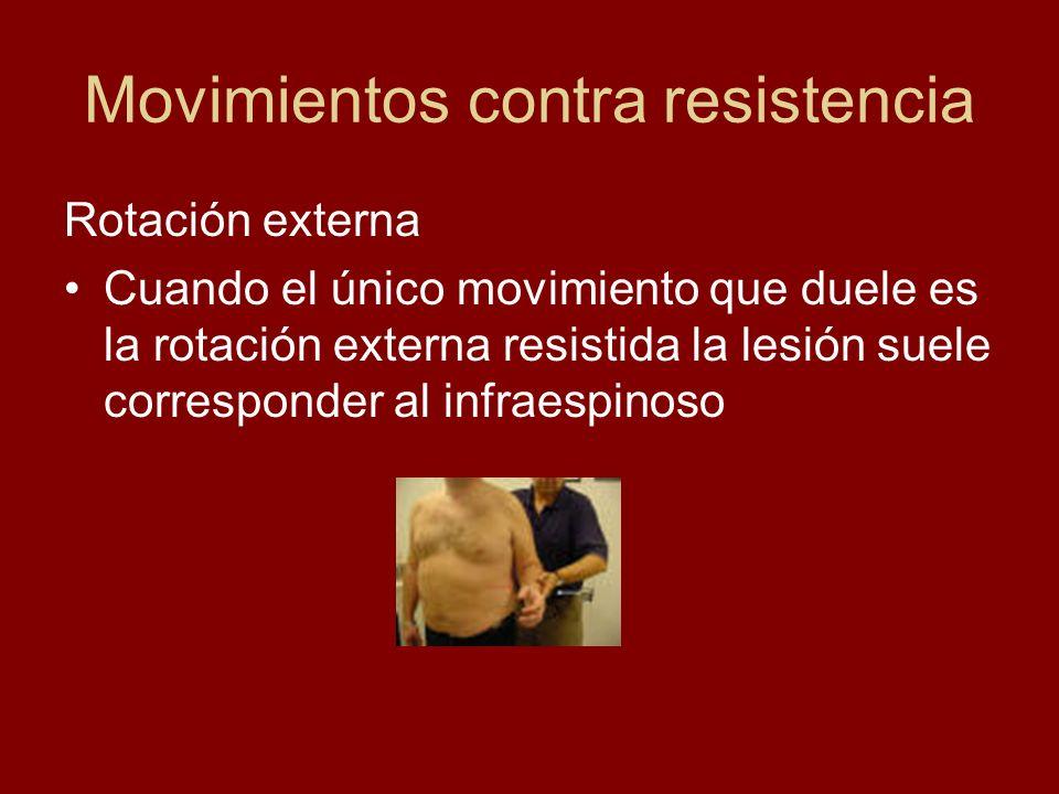 Movimientos contra resistencia