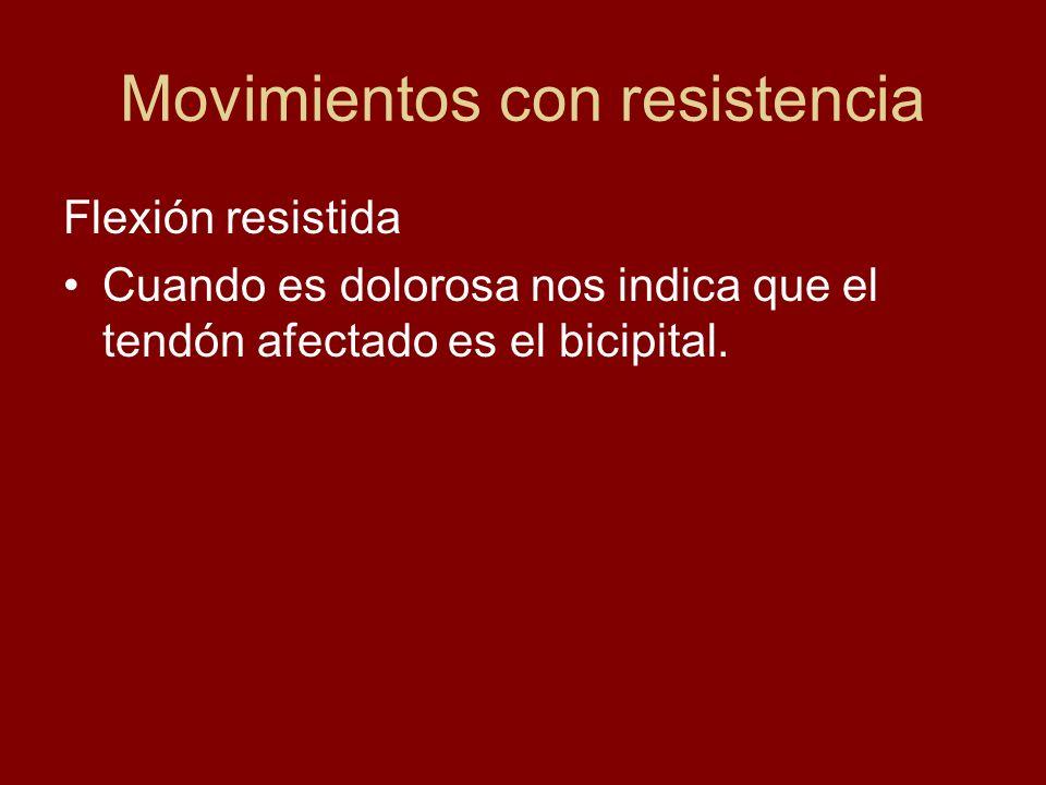 Movimientos con resistencia