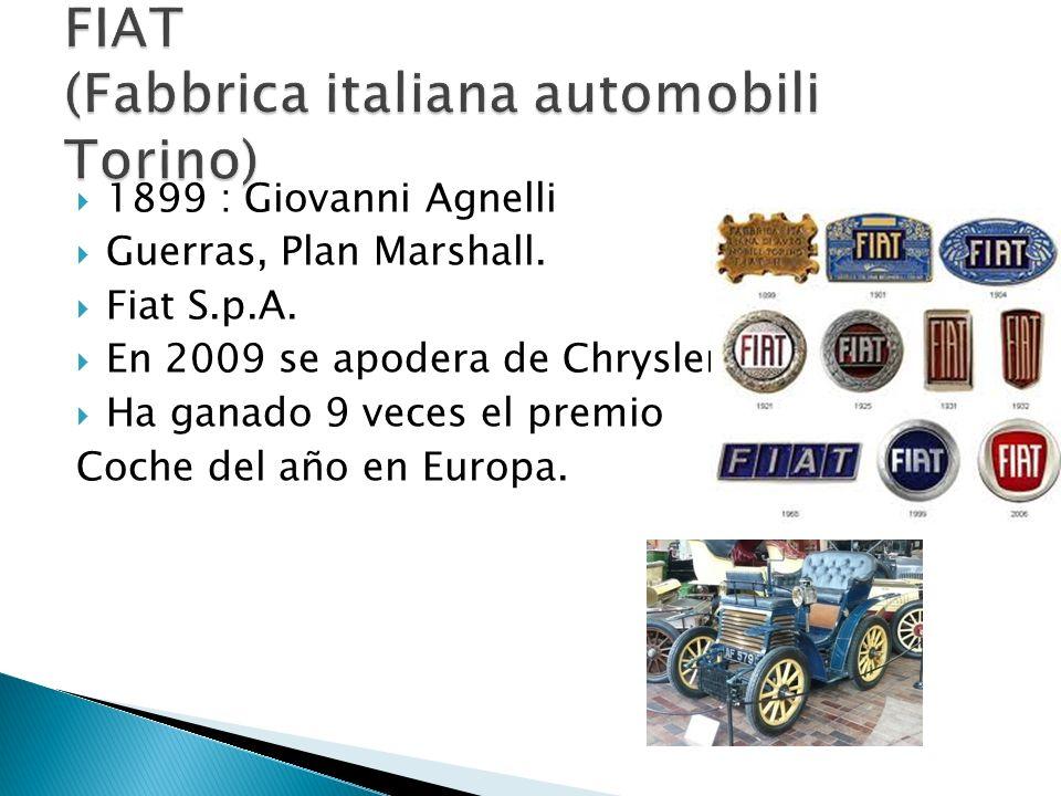 FIAT (Fabbrica italiana automobili Torino)