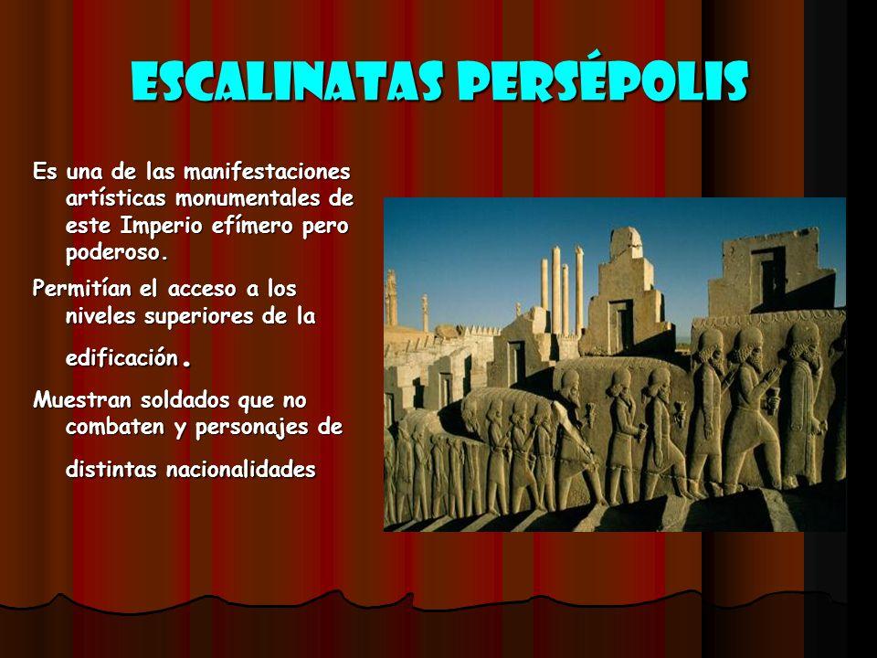 Escalinatas Persépolis