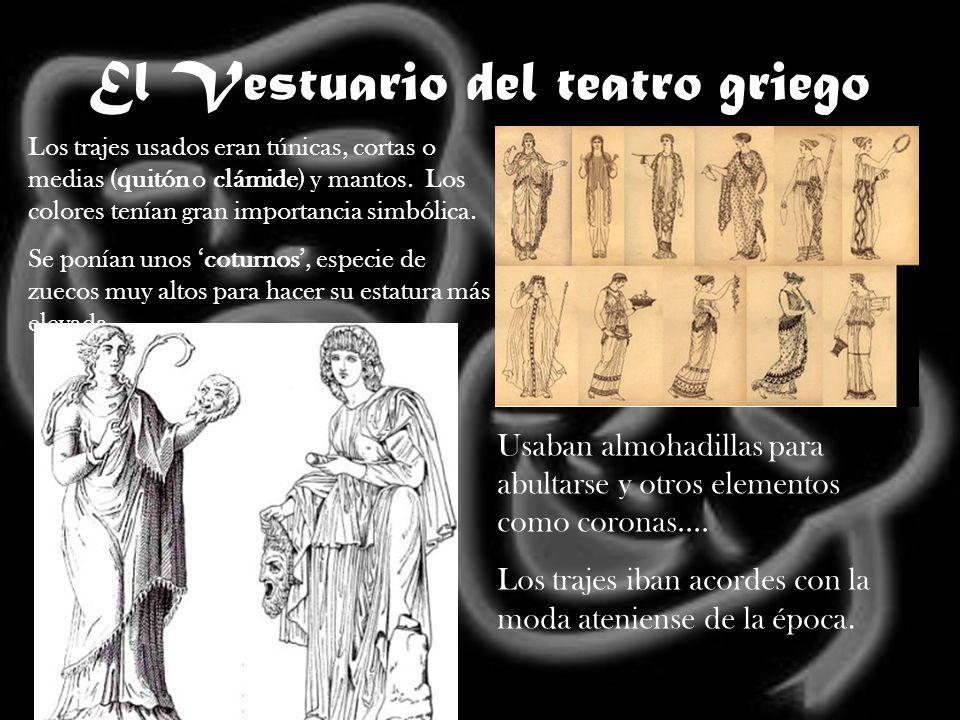 El Vestuario del teatro griego