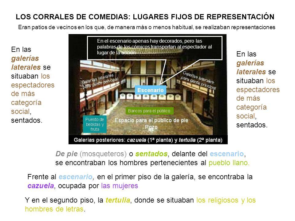 LOS CORRALES DE COMEDIAS: LUGARES FIJOS DE REPRESENTACIÓN