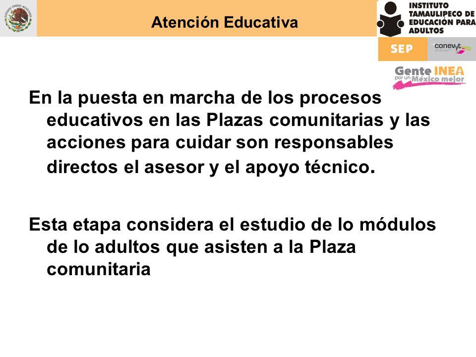 Atención Educativa