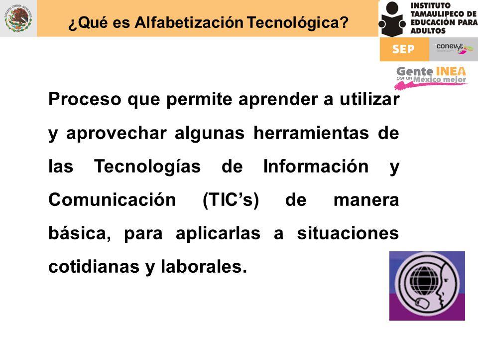 ¿Qué es Alfabetización Tecnológica