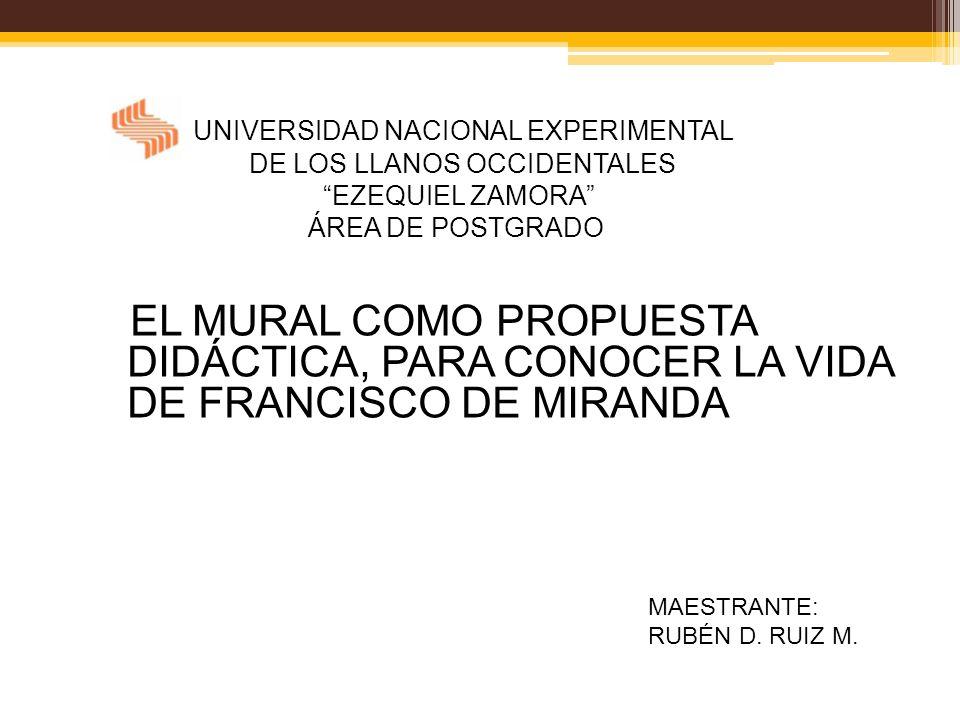 UNIVERSIDAD NACIONAL EXPERIMENTAL DE LOS LLANOS OCCIDENTALES EZEQUIEL ZAMORA ÁREA DE POSTGRADO