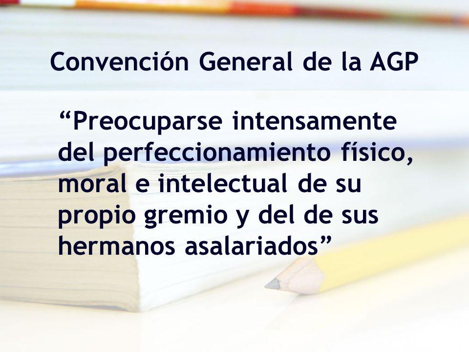 Convención General de la AGP