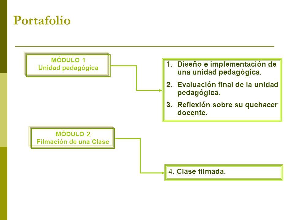 Portafolio Diseño e implementación de una unidad pedagógica.