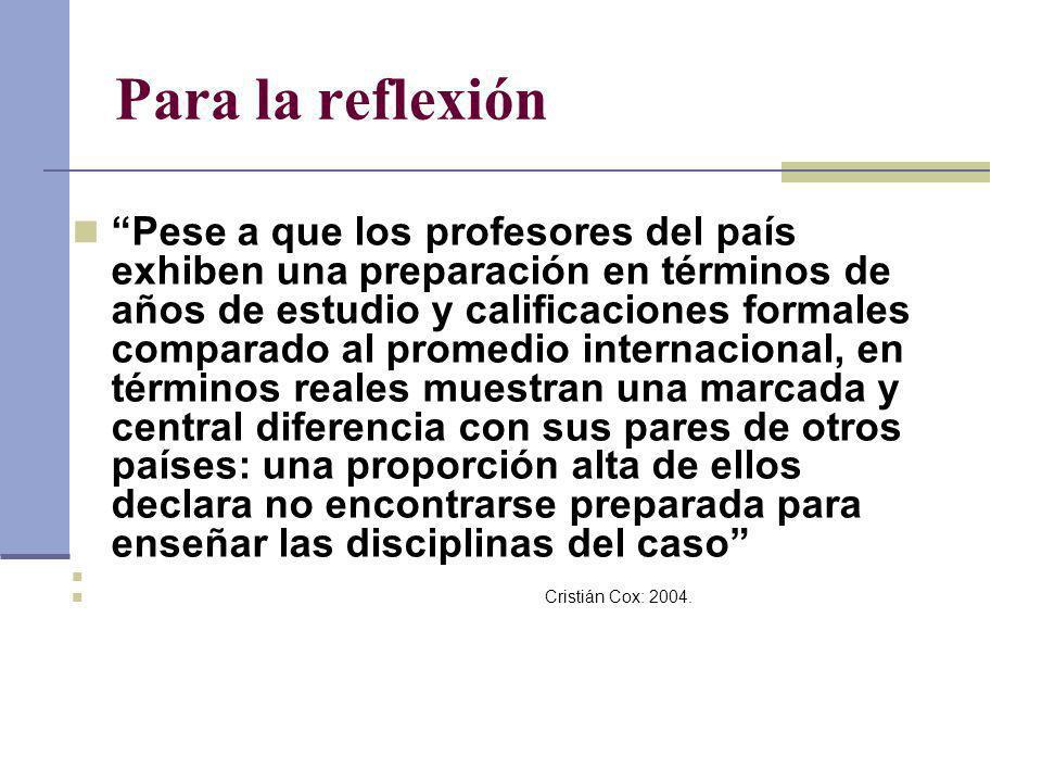 Para la reflexión