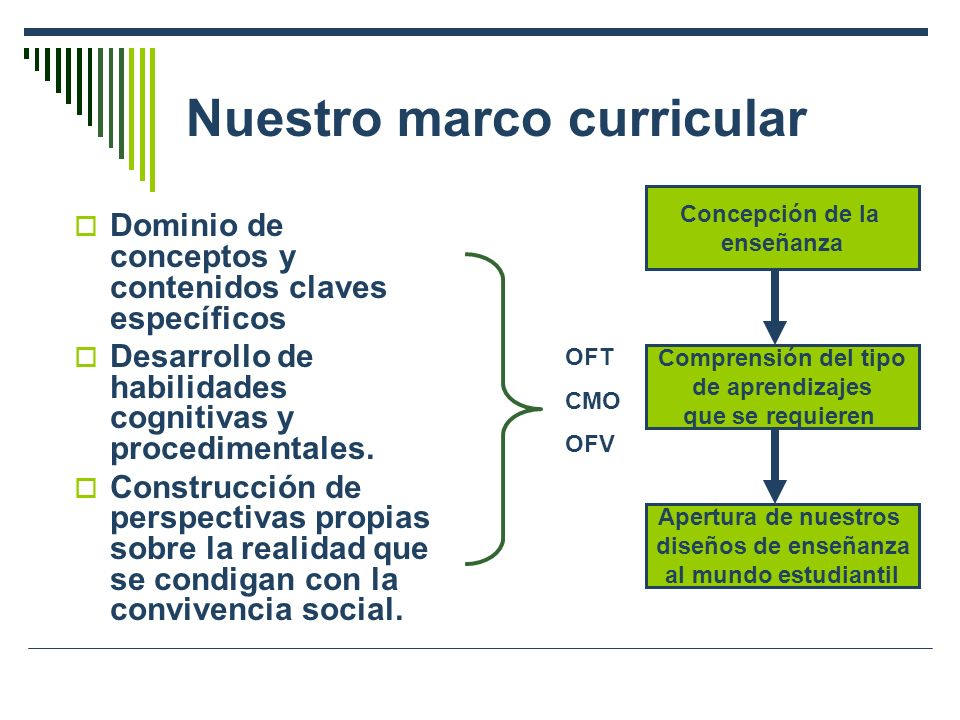 Nuestro marco curricular