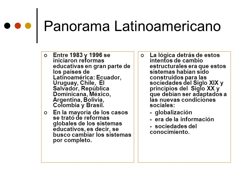 Panorama Latinoamericano