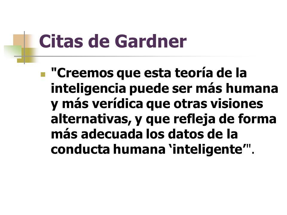 Citas de Gardner