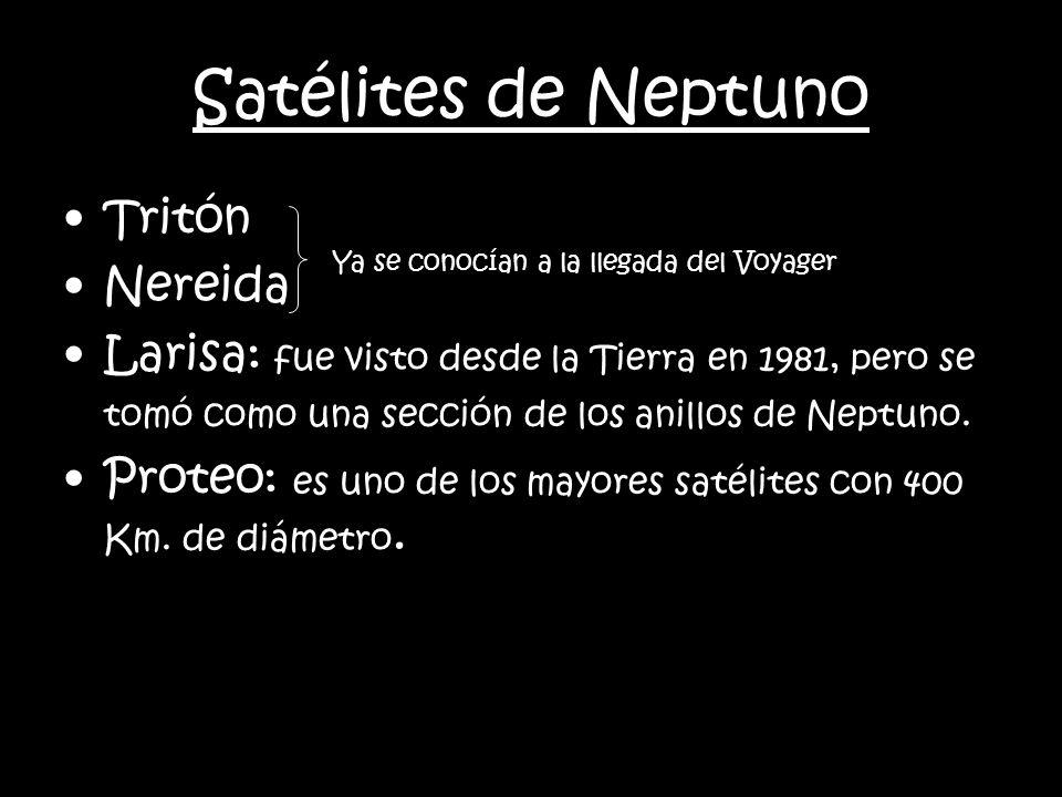 Satélites de Neptuno Tritón Nereida