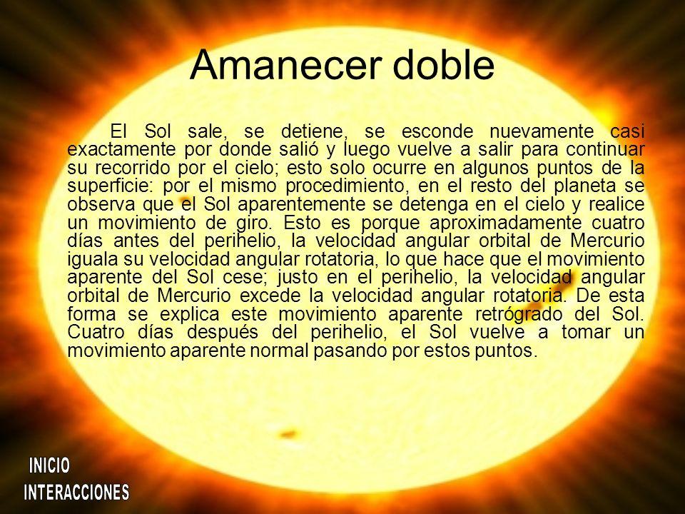 Amanecer doble
